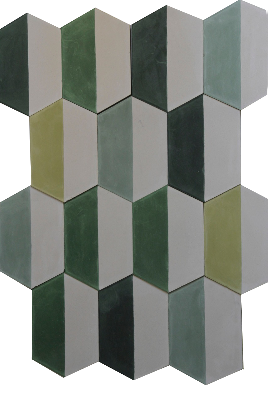 Popham design tiles floor pattern design i popham tiles green floor tiles shades of green dailygadgetfo Choice Image