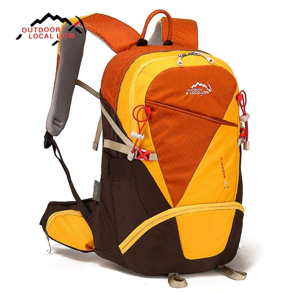 c68371a28d0e LOCAL LION 25L Outdoor Backpack Cycling Climbing Camping Bag Sport Bag  Colorful Travel Hiking Knapsack Unisex