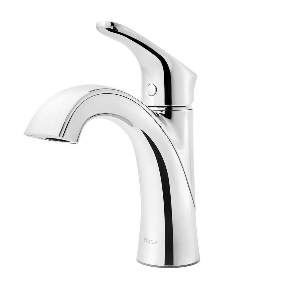 Pfister Weller Single Hole Single Handle Bathroom Faucet In