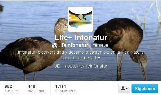 @LifeInfonatur 23 oct Número bonito. 1111 apasionad@s por #rednatura en @lifeinfonatur. Gracias http://www.efeverde.com/blog/tematica/infona...