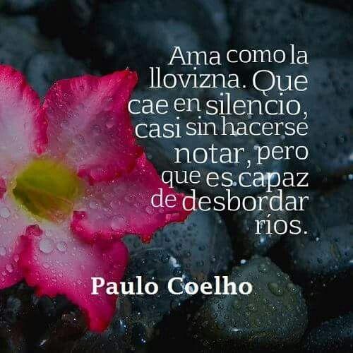 Paulo Coelho Solo En Espanol Pinterest Amor Frases Y Pensamientos