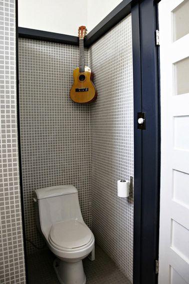 Déco Toilettes Grise - Peinture et déco WC avec du gris in 2018 ...