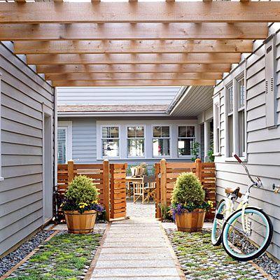 Ese tipo de barda es ideal! #Porch