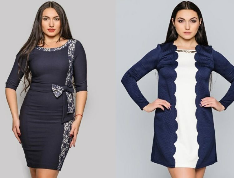 festliche-Kleider-große-Größen-Abendkleid-passende-Modelle ...