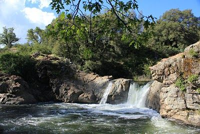 Swimming holes of california rainbow falls pools - Swimming pools in great falls montana ...