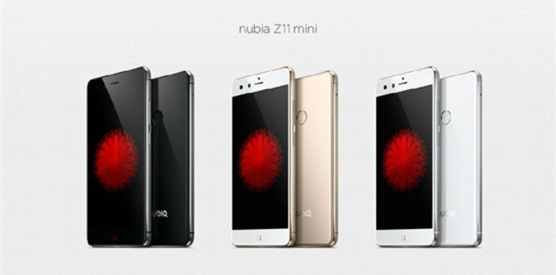ZTE Nubia Z11 Mini presentado oficialmente