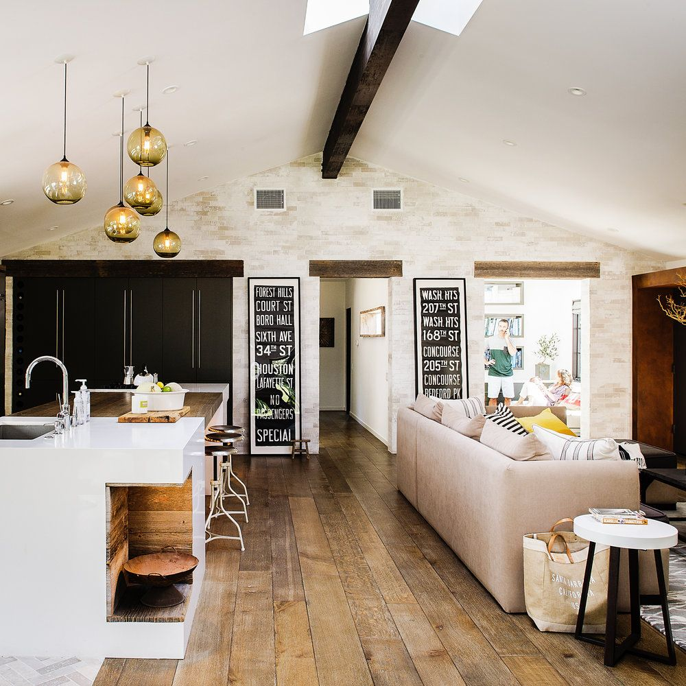 18 ideas to steal from a rustic modern ranch house for Small ranch house remodel