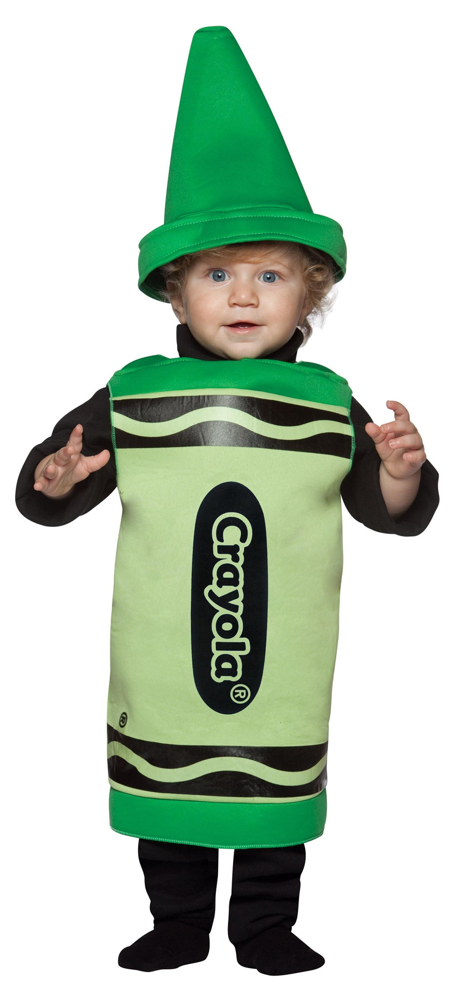 Green Crayola Toddler Costume from CostumeExpress.com