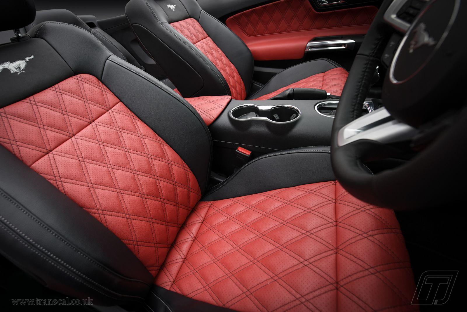 Ford Mustang Leather Interior Bespoke Cars Truck Interior Car Interior