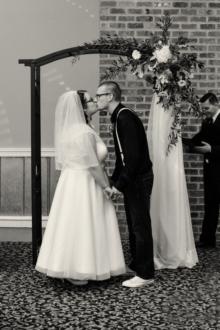 Haylee and austin the mill room wedding wake forest nc wake