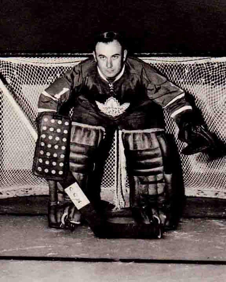 Bruce Gamble Hockey goalie, Goalie, Maple leafs