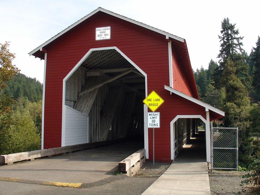 Office Covered Bridge, Oregon