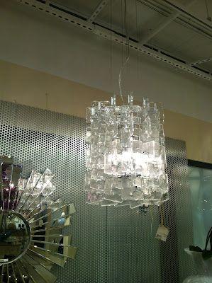 70's italian inspired chandelier from cyan designs, as seen at #hpmkt