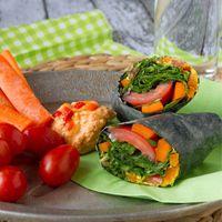 candida diet recipes wraps
