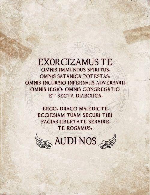 supernatural exorzismus