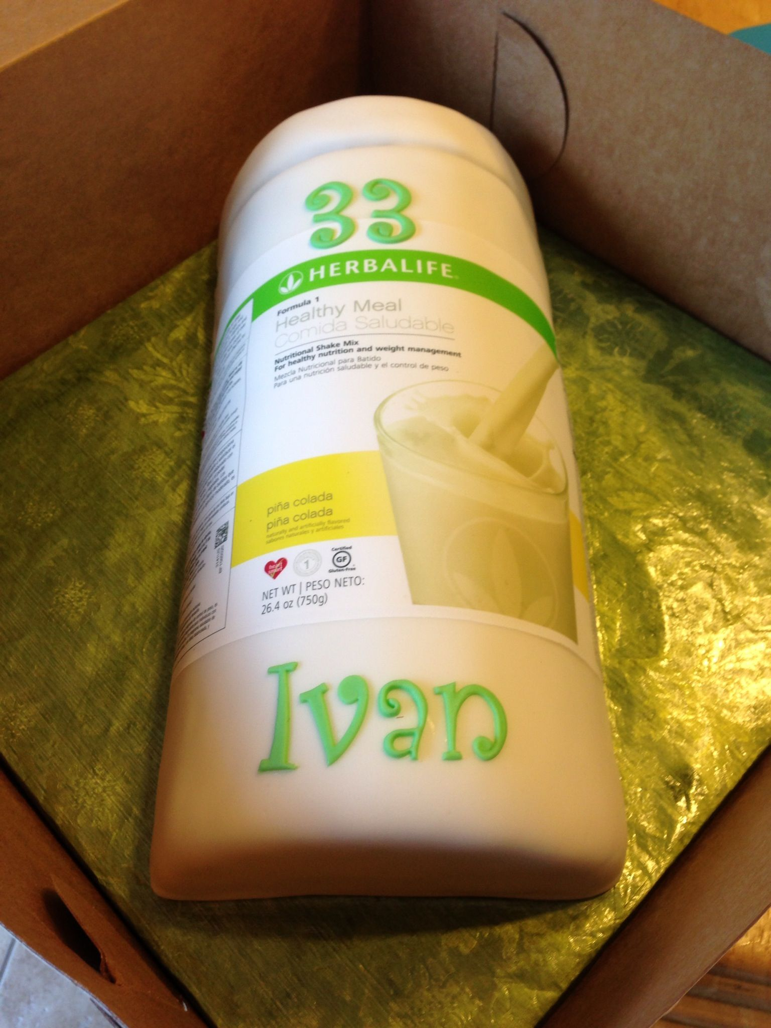 Herbalife Cake I Want This For My Birthday Lol