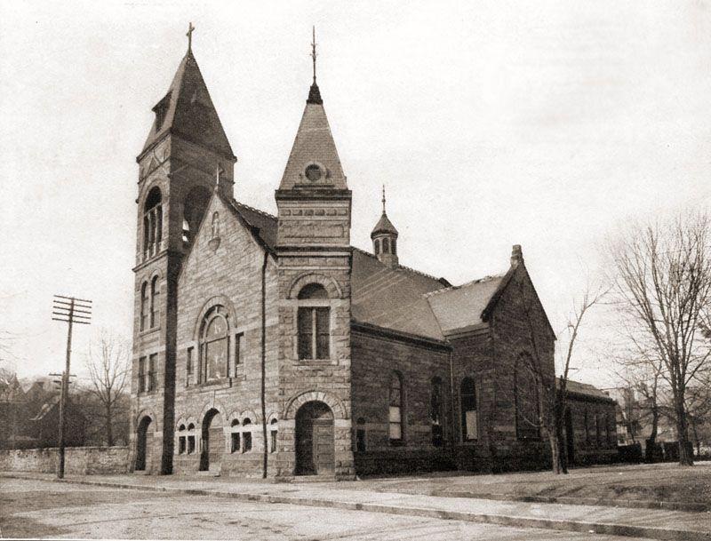 Sacred Heart Catholic Church Virginia And Broad Sts 1911 Church West Virginia Catholic Church