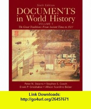 Documents in world history volume 1 6th edition 9780205050239 documents in world history volume 1 6th edition 9780205050239 peter n fandeluxe Image collections