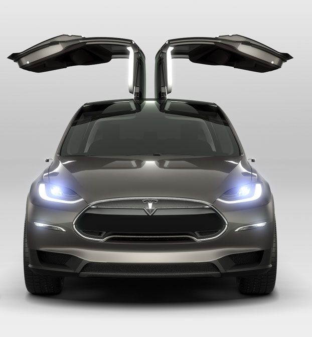 California Grants Tesla 10 Million To Build The Model X Electric Suv A Host Of New Ideas Motors Cars