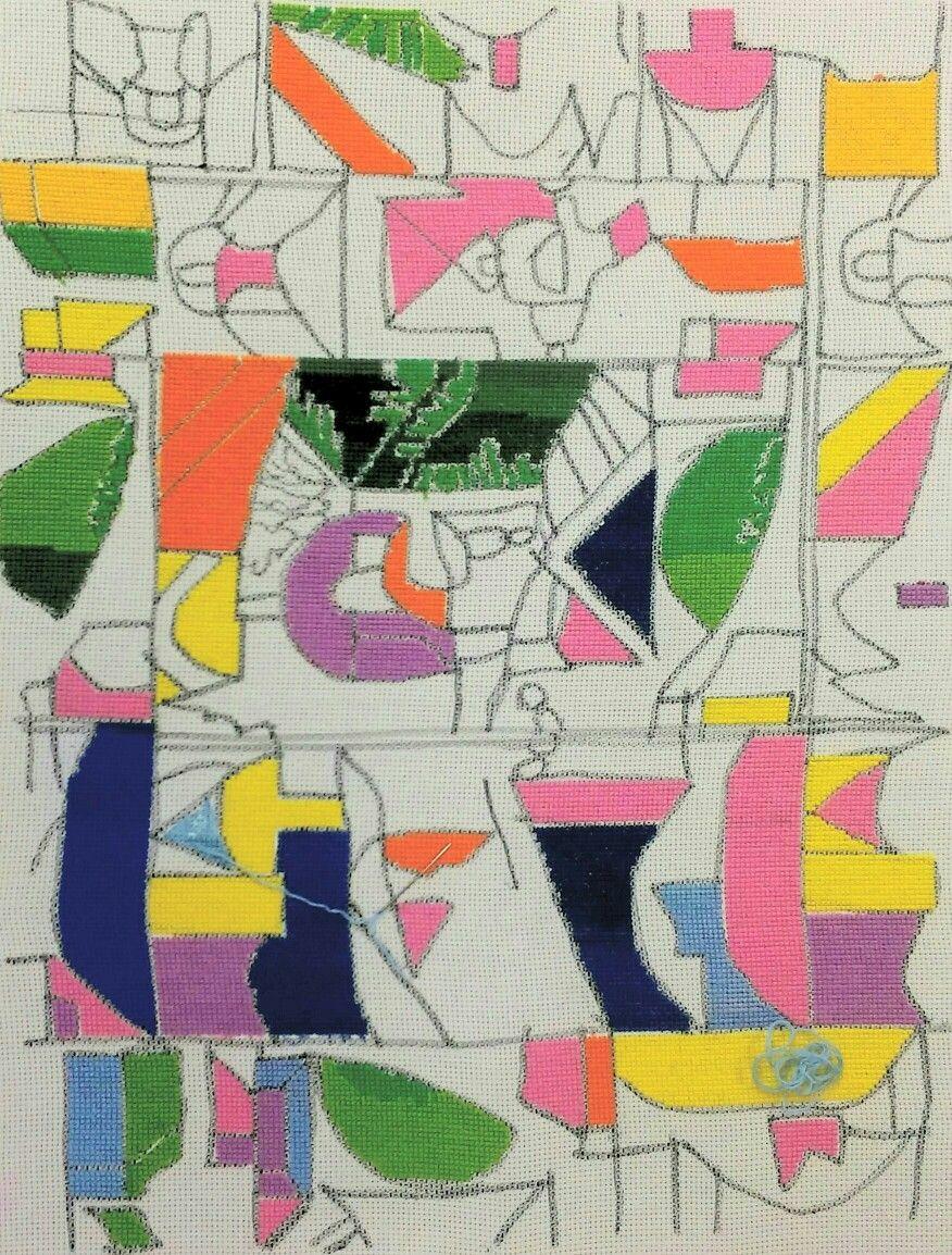 Julia Entwhistle's Paul Klee stitch work