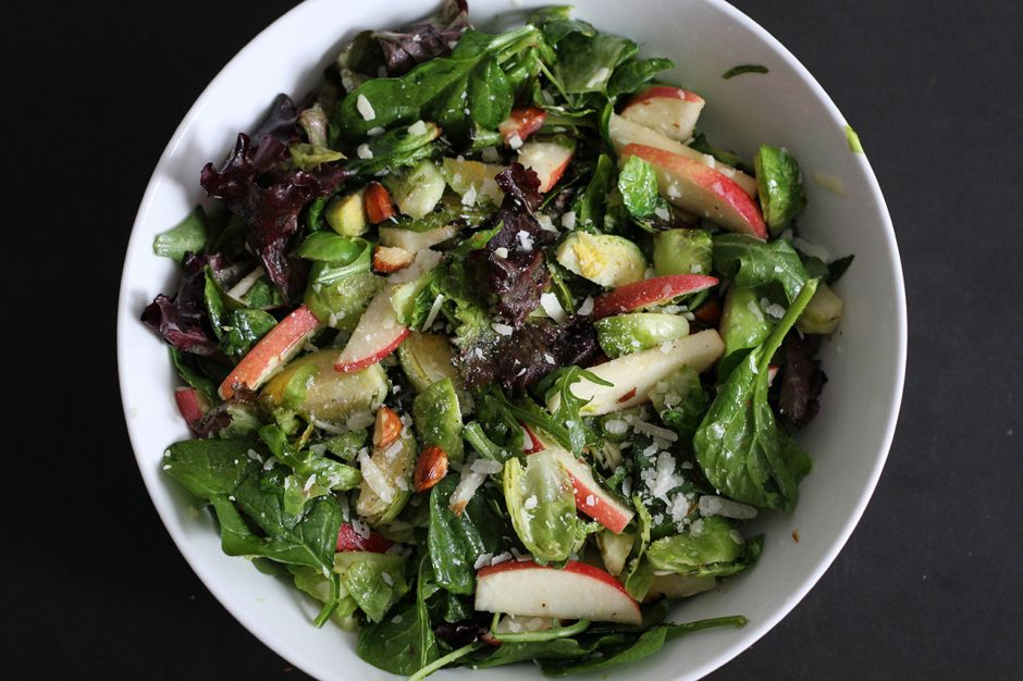 Brussels Sprout and Apple Salad | Salted Kitchen
