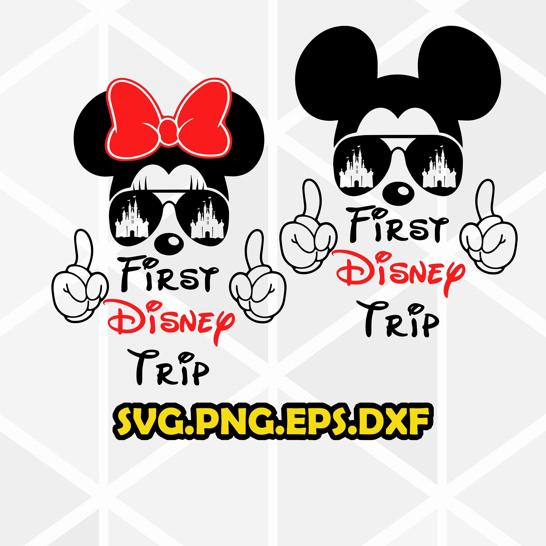 First Disney Trip svg. Disney trip 2020 . Disney trip SVG