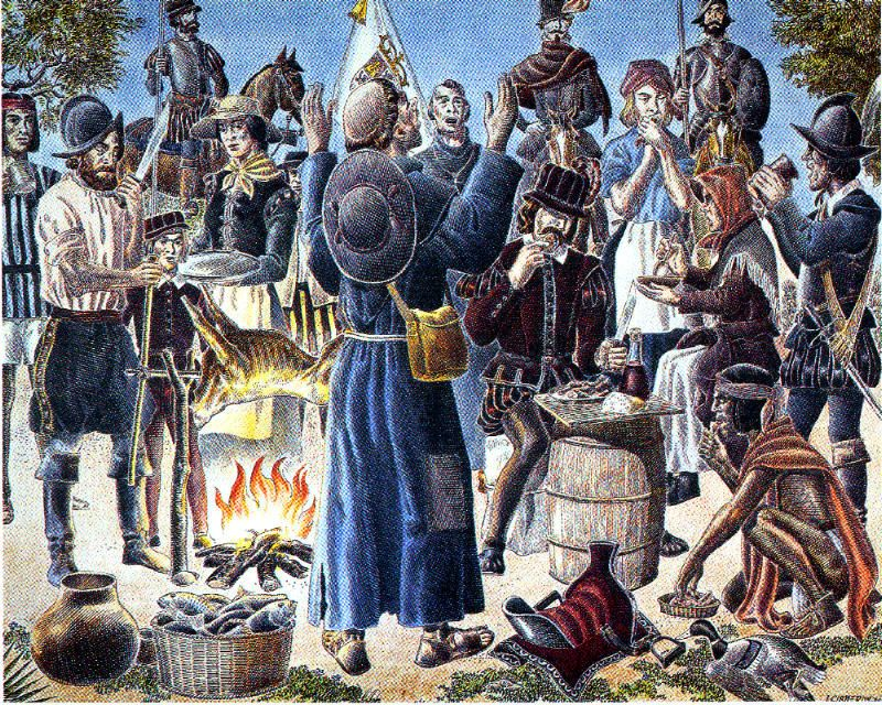 Did Texas Host the First Thanksgiving? – Houston Public Media