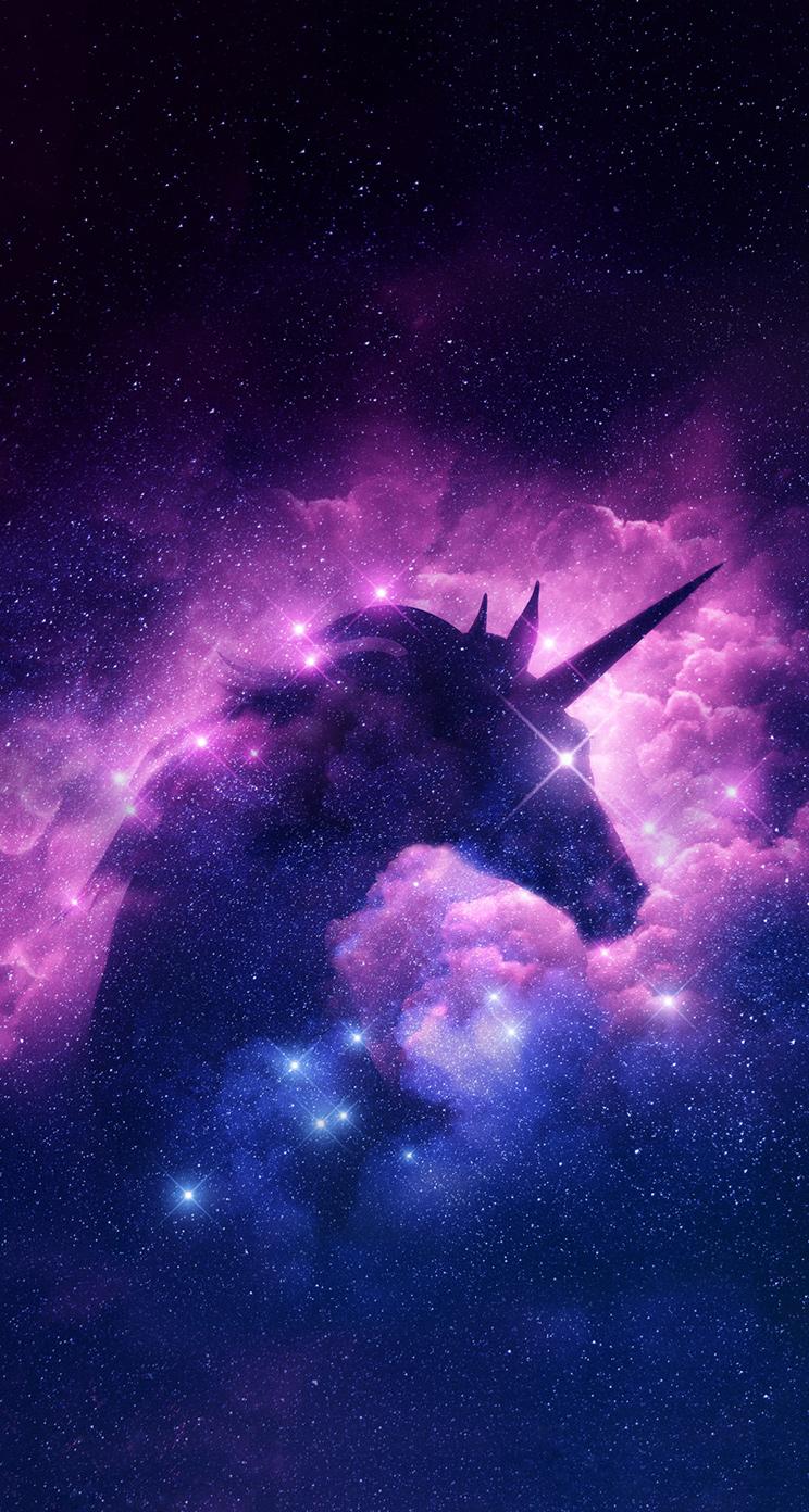 Fond Decran Galaxie Licorne