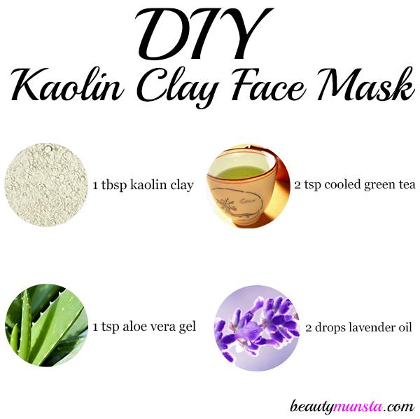 Diy Kaolin Clay Face Mask Recipe Beautymunsta Free Natural Beauty Hacks And More Clay Face Mask Face Mask Recipe Clay Faces