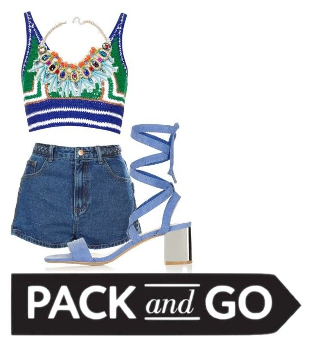 """""""🇧🇷Get the colourful Rio look🇧🇷 All items from Topshop"""" by kyreeshaxox ❤ liked on Polyvore featuring Topshop"""