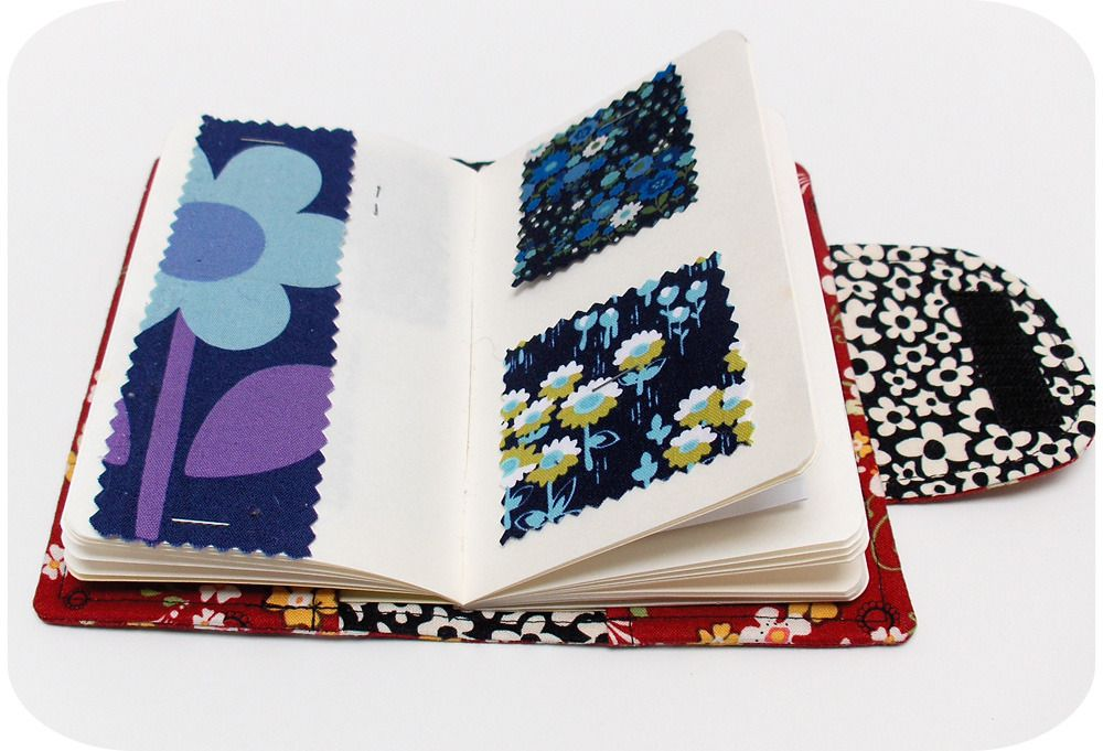 Swatch Book Cover PDF Sewing Pattern