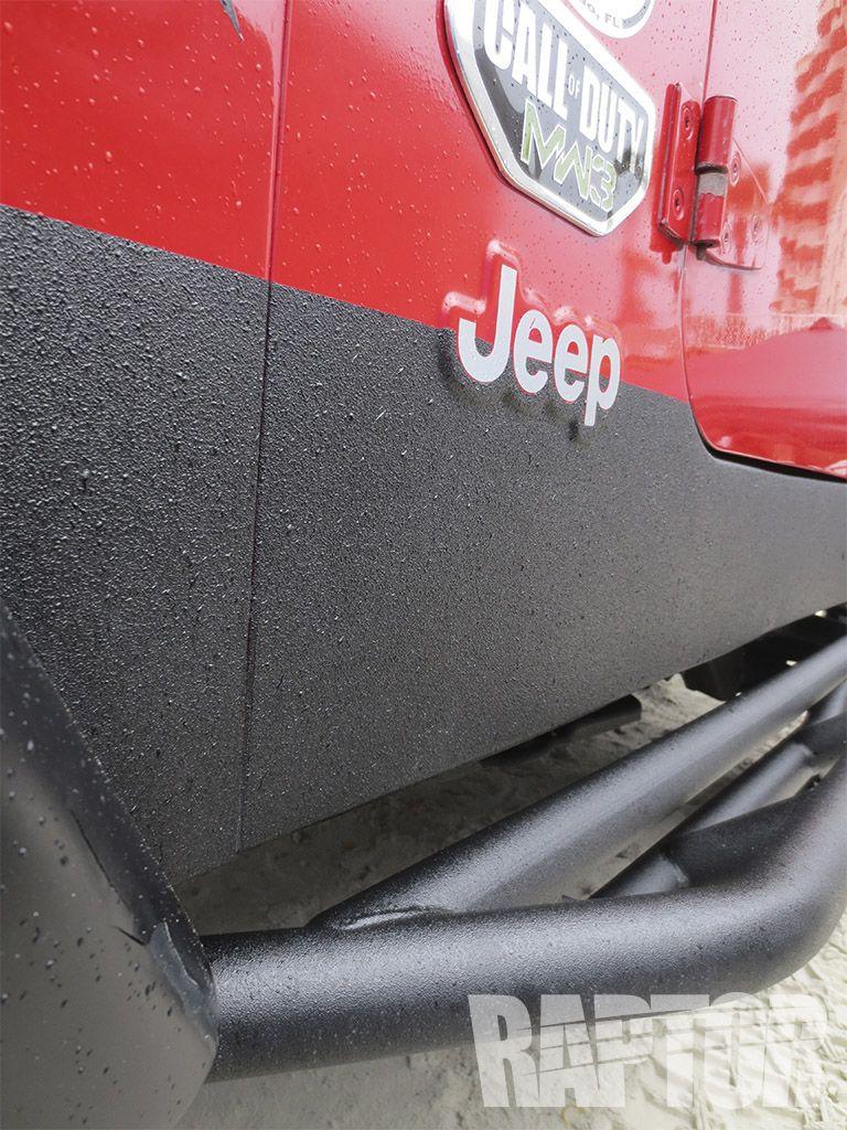 JEEP WRANGLER Full Overspray raptorised Truck paint