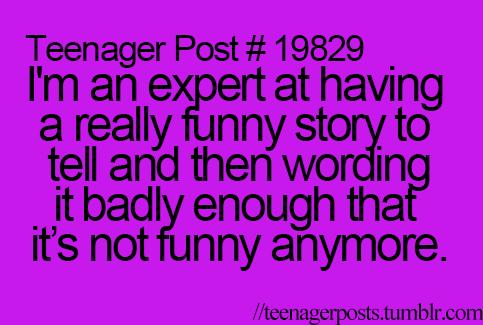 That always happens to me