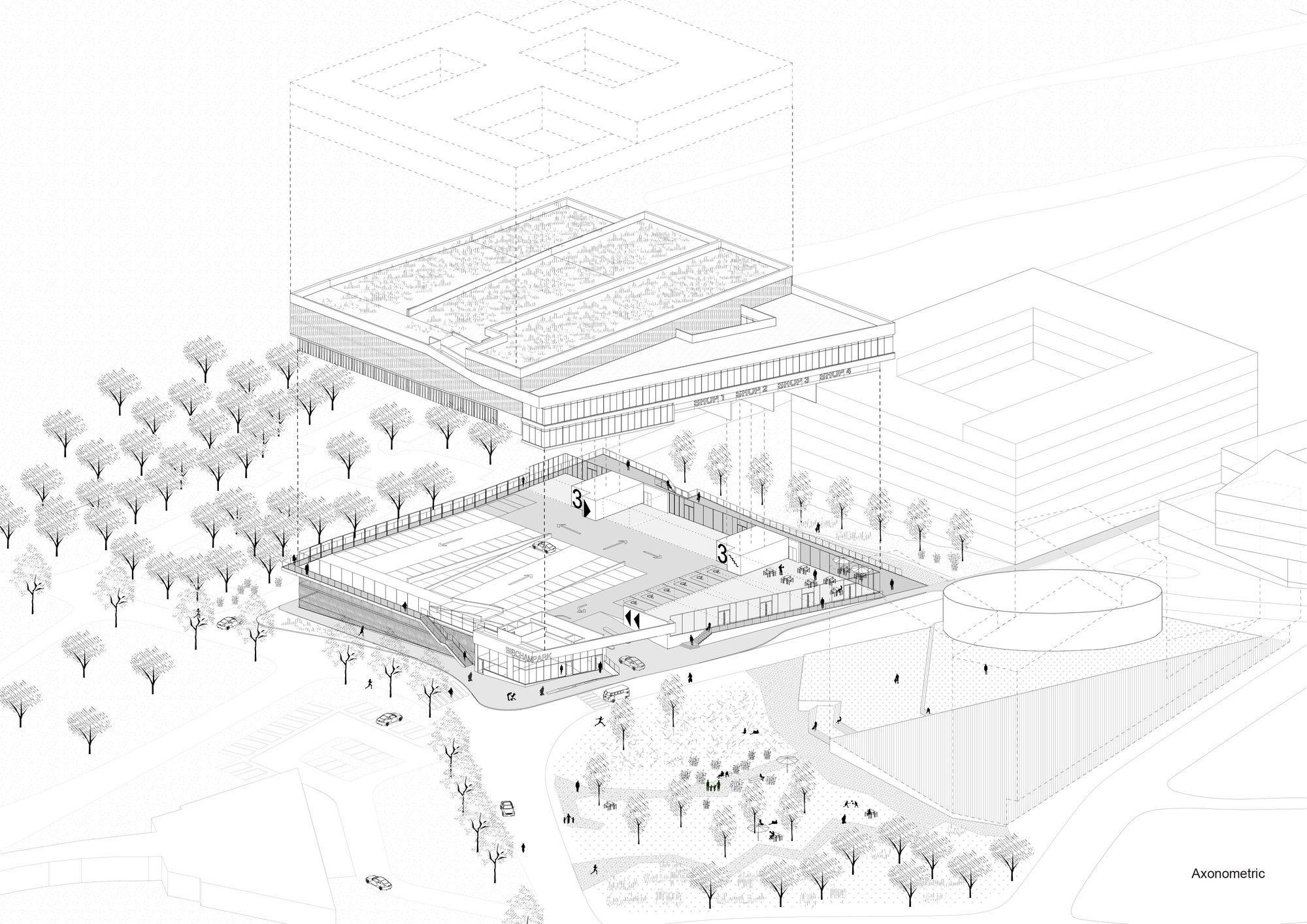 Galeria De Estacionamiento Multiple S333 Architecture