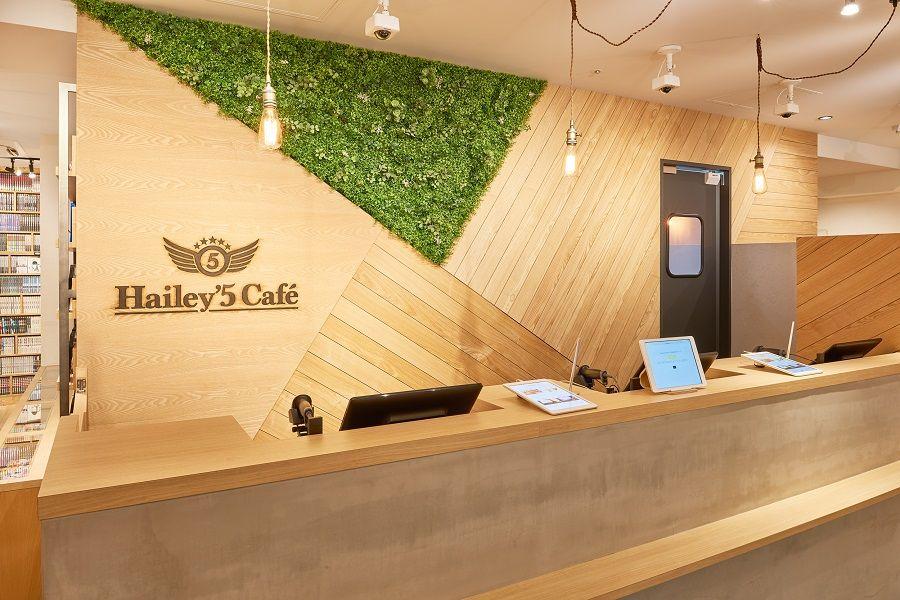 Hailey 5 Cafe渋谷店内 カフェ 店舗デザイン 渋谷