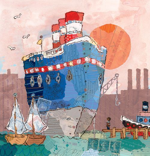 philip stead - jonathan and the big blue boat
