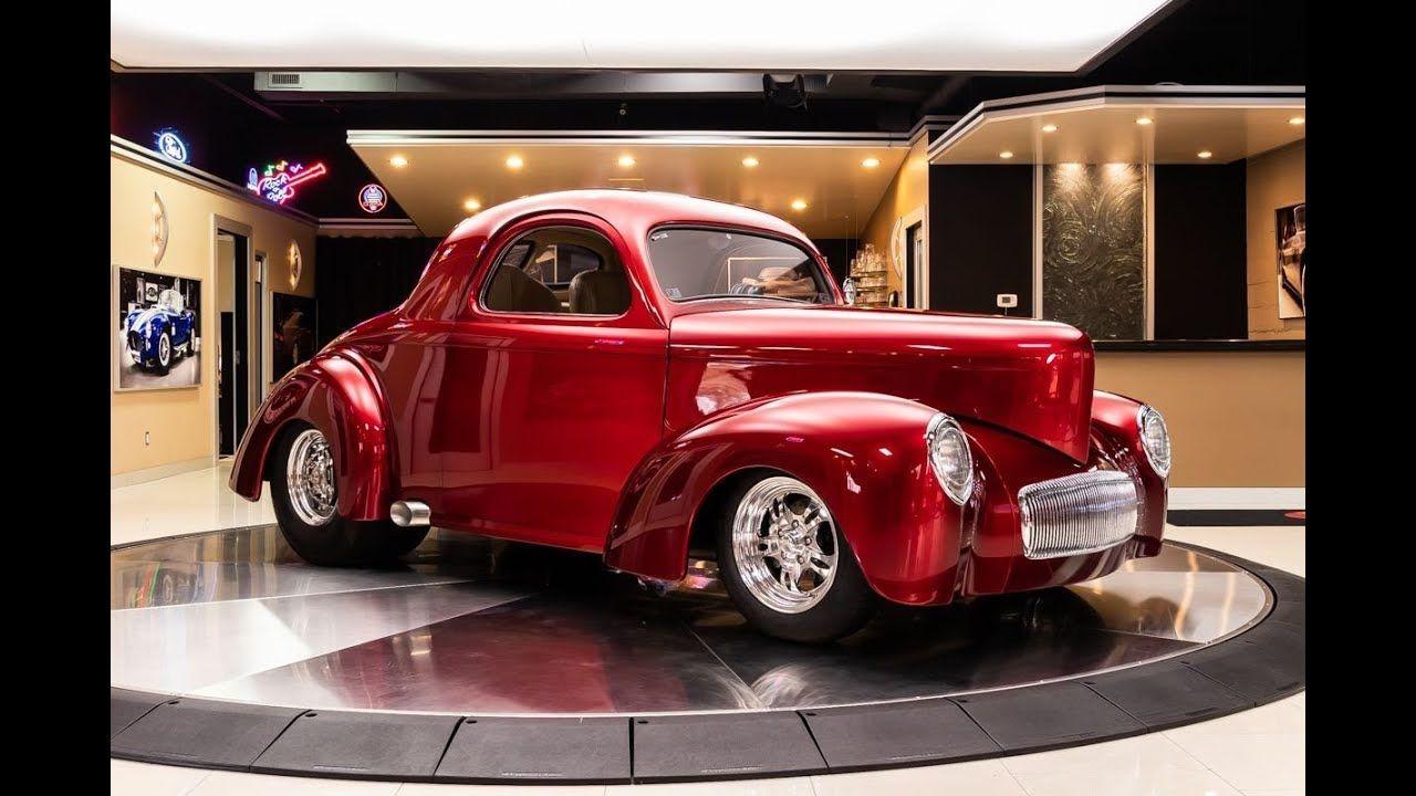 1941 Willys Coupe For Sale In 2020 Shaved Door Handles Willys American Racing Wheels