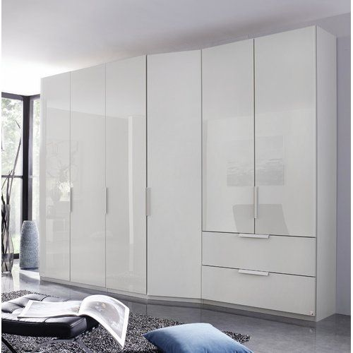 Best Wave 6 Door Wardrobe Rauch Colour Grey With Images 400 x 300