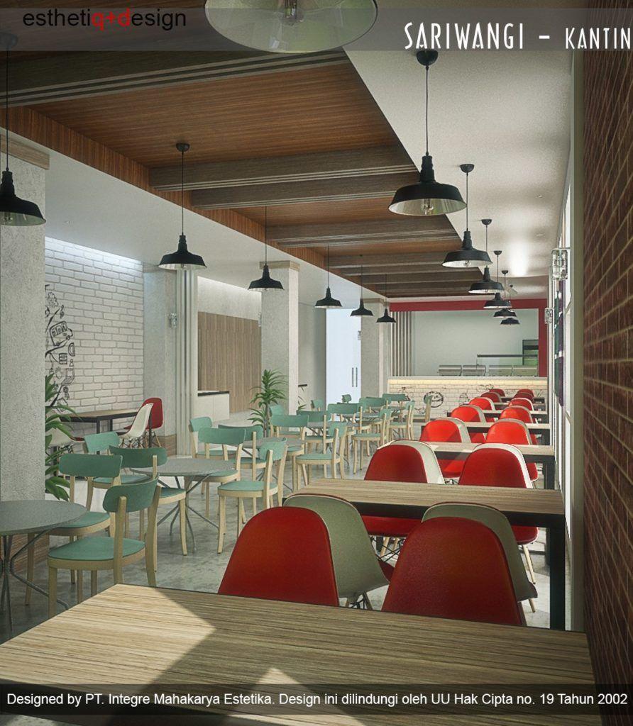 Interior desain canteen cafe Sariwangi