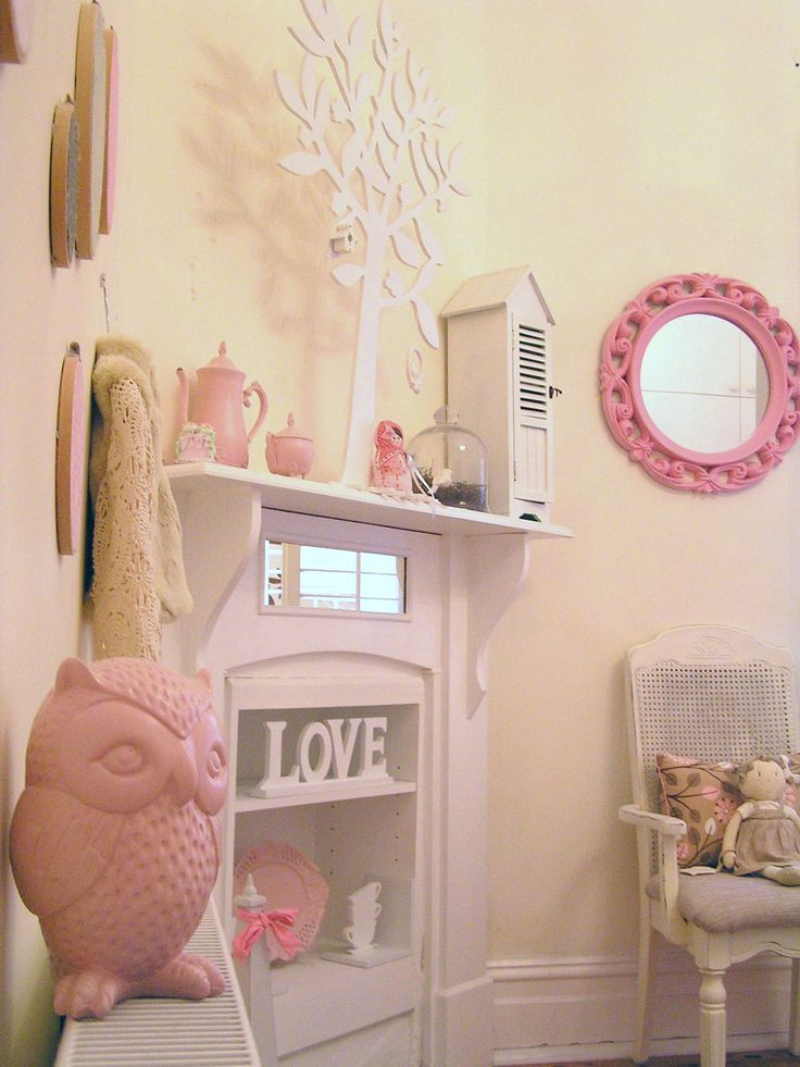 Room S Shabby Chic French Bedroom Vintage Pastel Pink