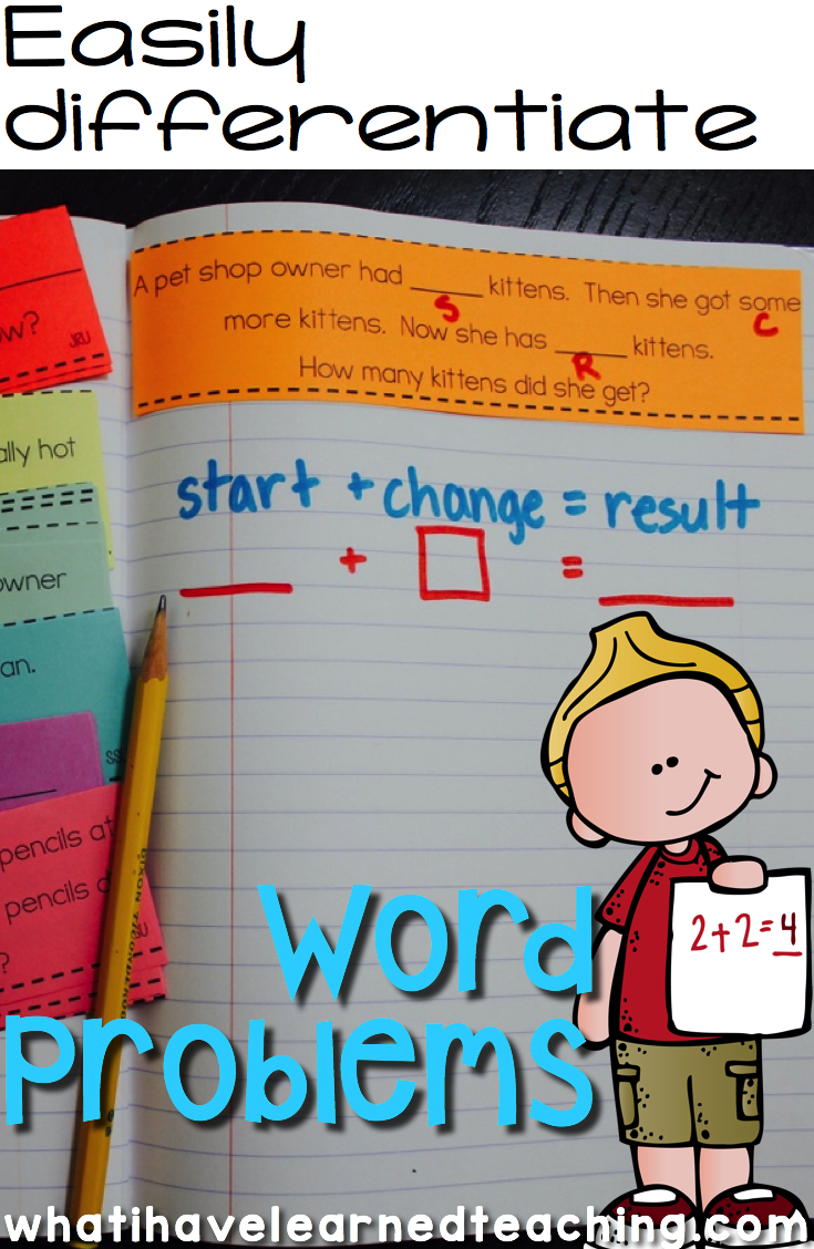 How to Teach Addition and Subtraction Word Problems | Kind