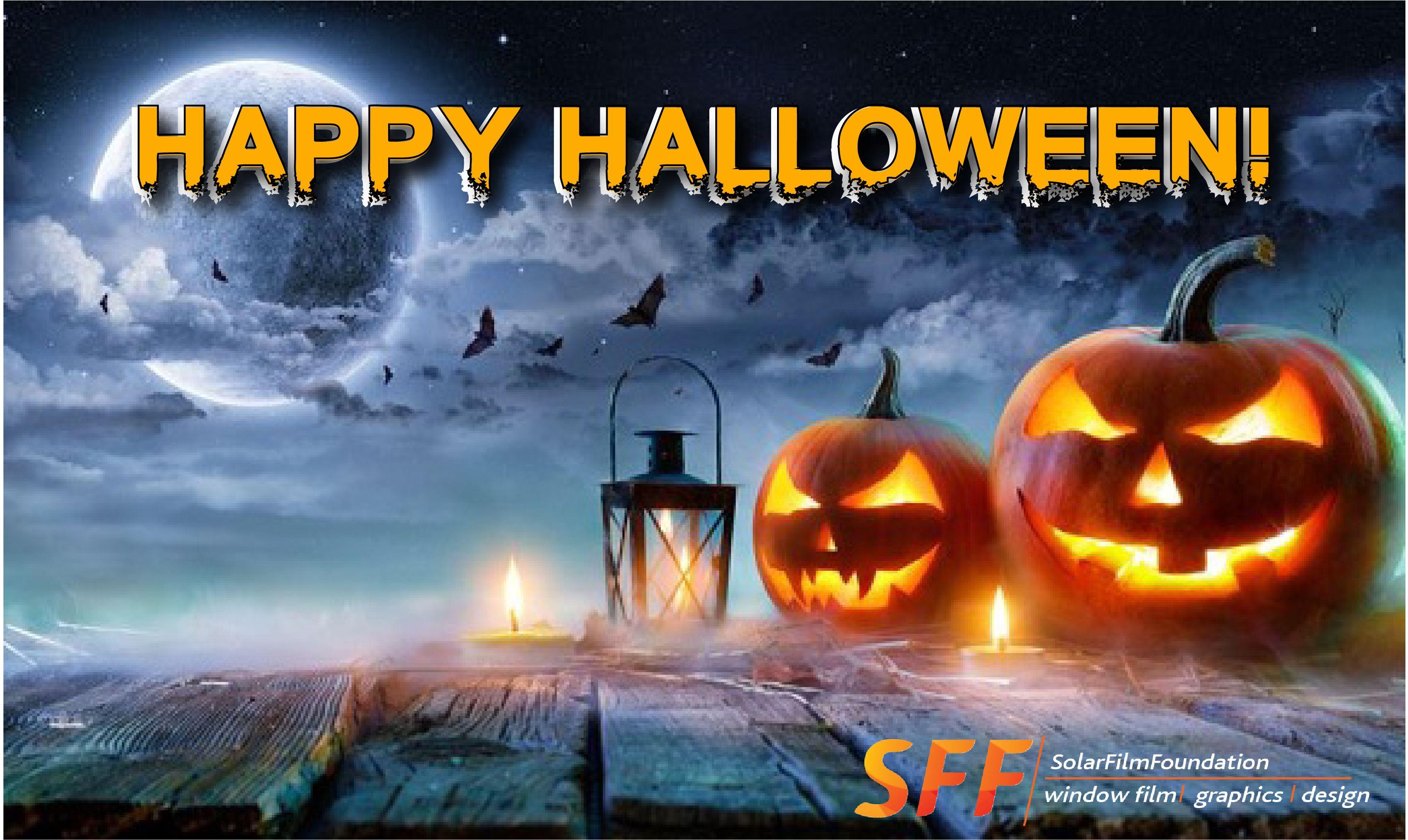 Happy Halloween! Halloween scene, Jack o lantern, Scene