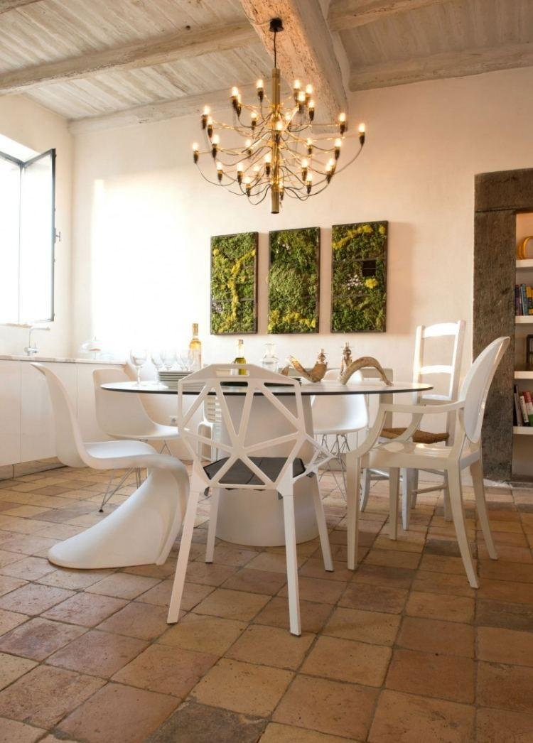 Designer st hle mit normalen kombinieren k chen tisch for Designer stuhle esszimmer