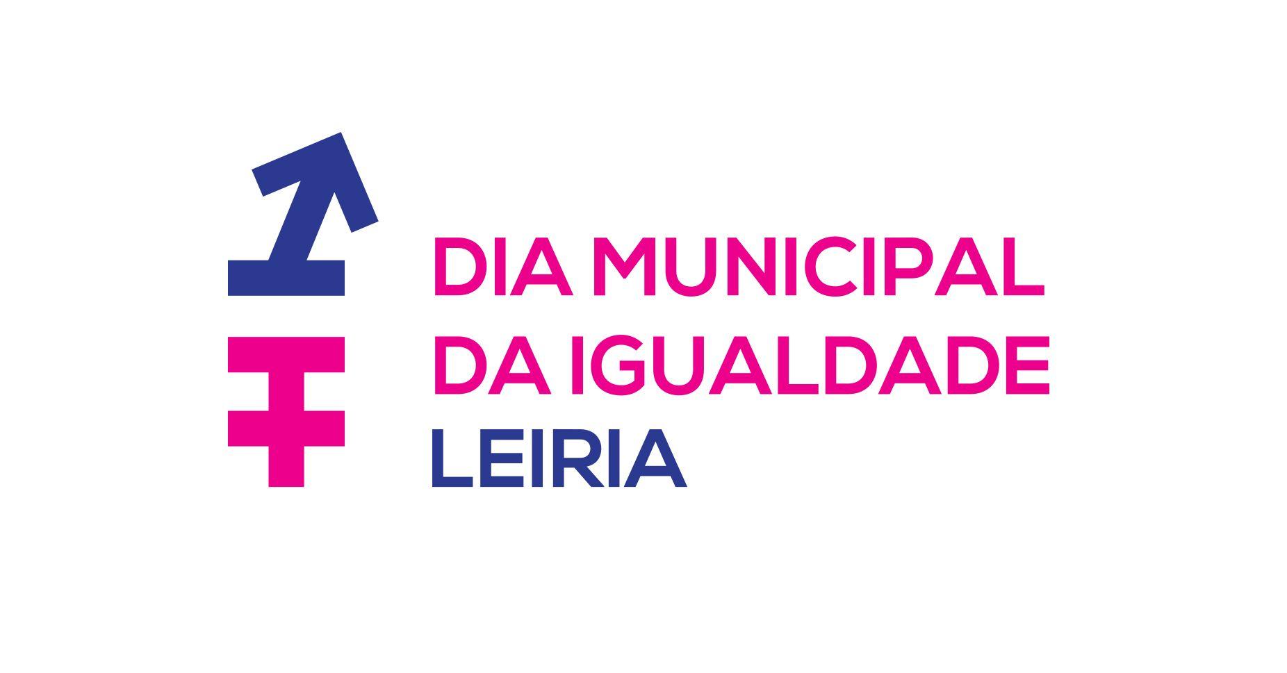 Identidade para o Dia Municipal da Igualdade - Leiria. Design: Fausto Vicente, Samuel Ramos e João Morgadinho
