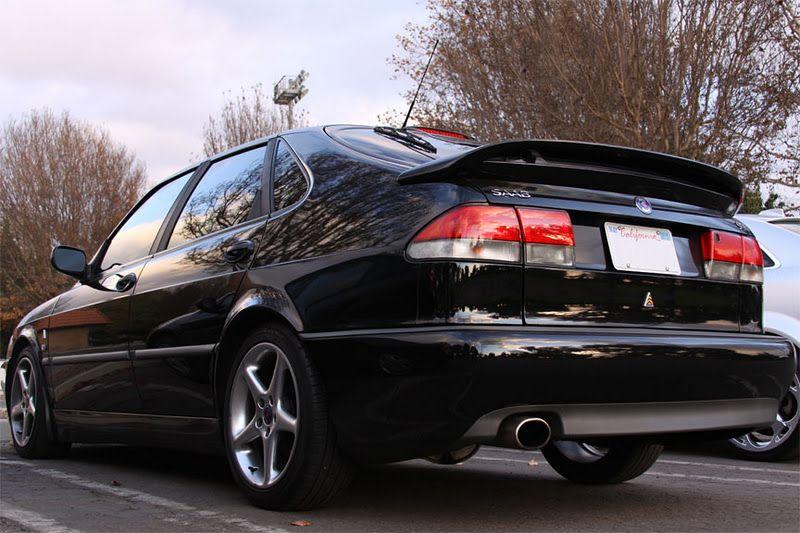 Black Back Viggen Saab 9 3 Viggen Saab 9 3 Saab
