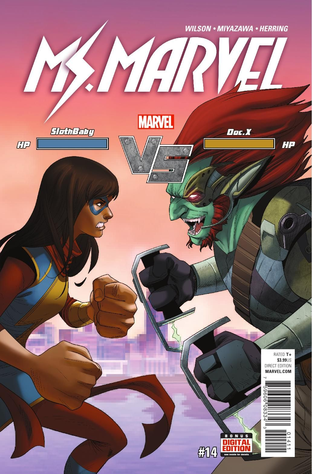 Preview: Ms Marvel #14, Story: G Willow Wilson Art: