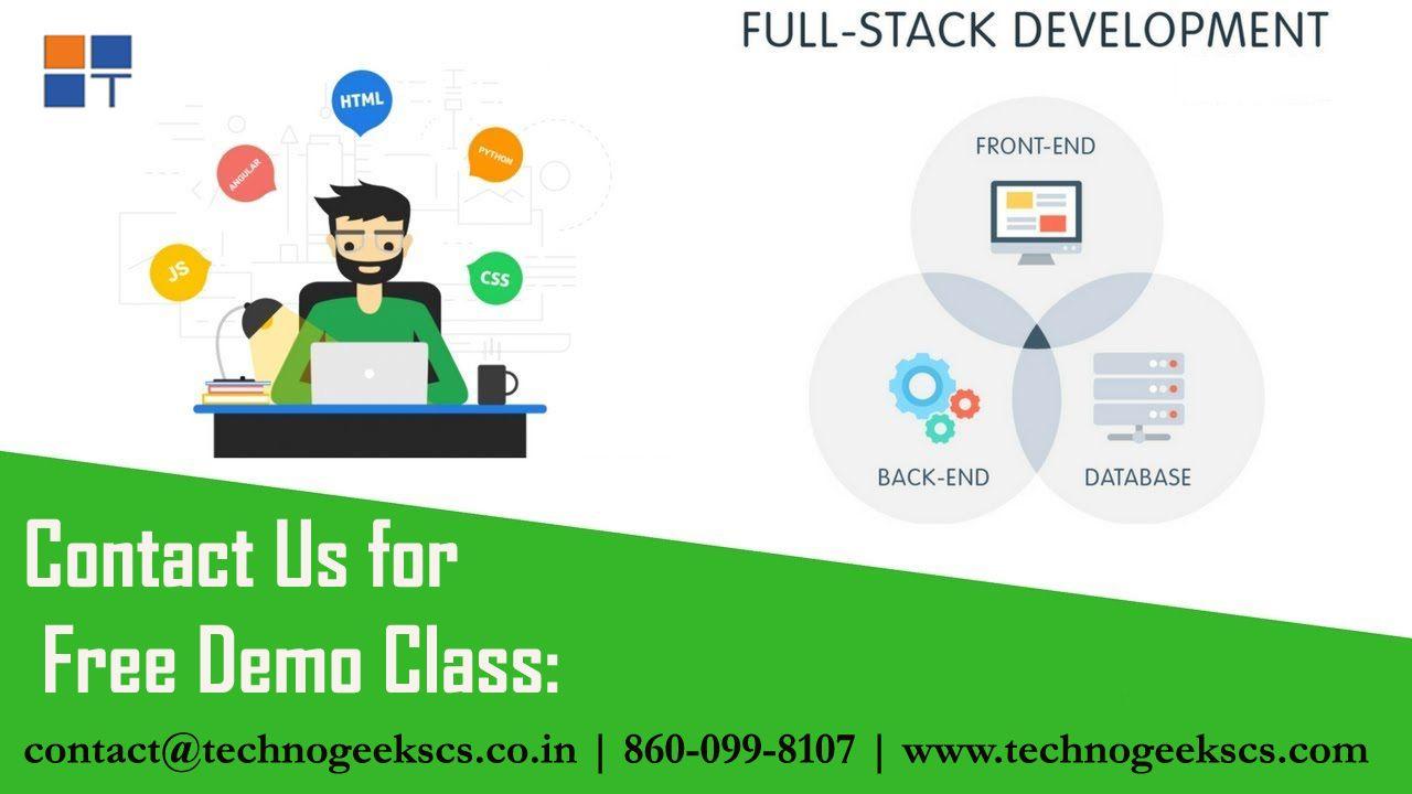 Full Stack Web Development Training In Pune Technogeeks Web Development Training Web Development Development