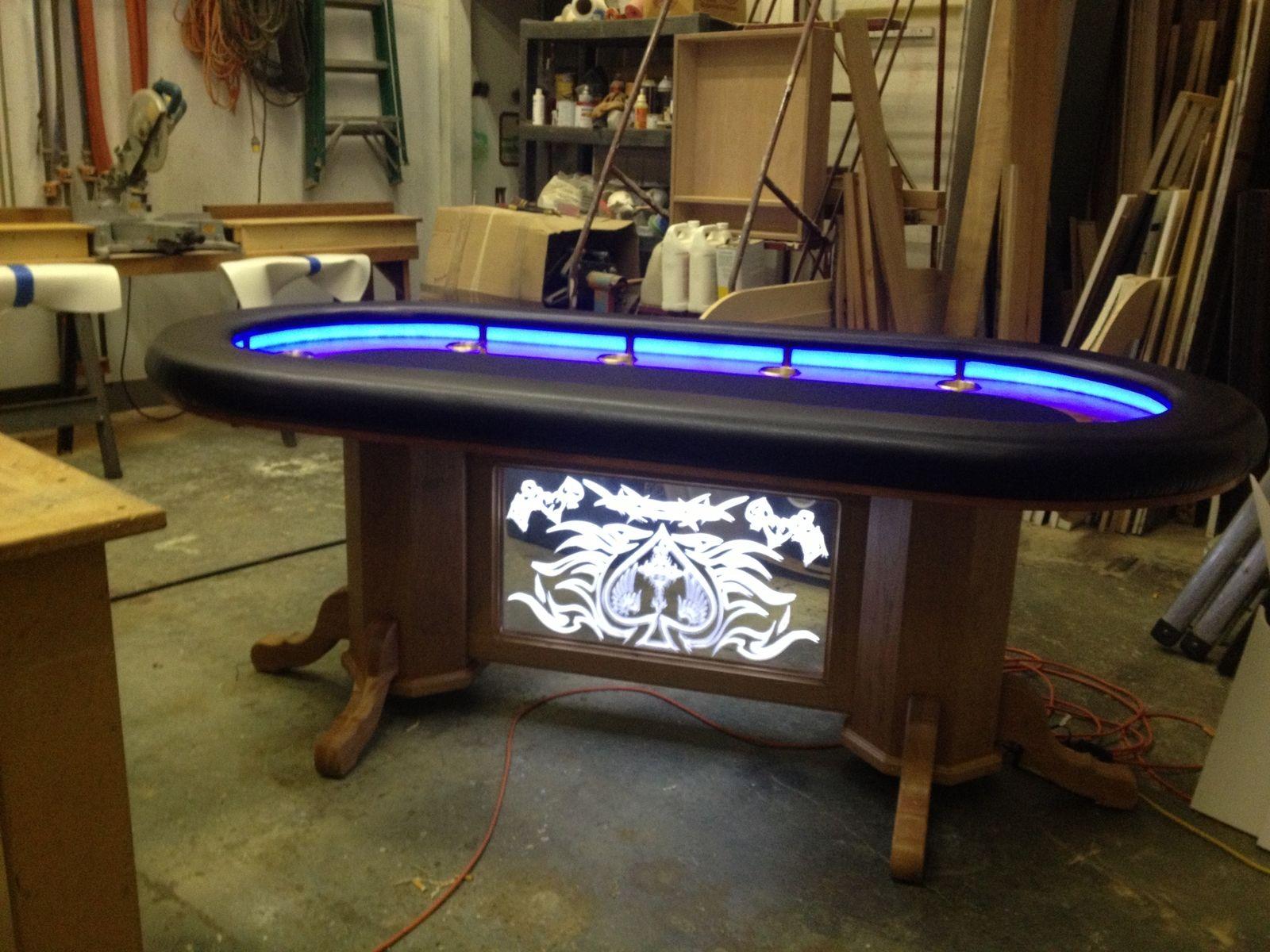 Texas Holdem Table Custom pool tables, Pool table legs