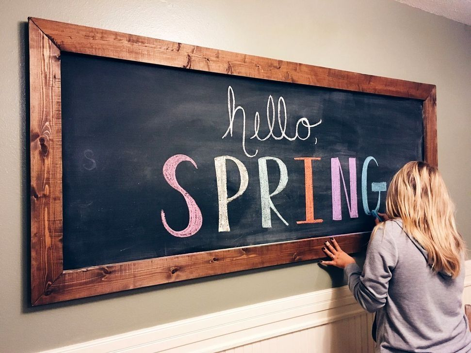 20 creative chalkboard kitchen decor ideas in 2020