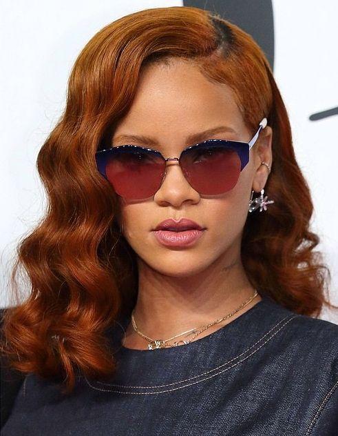 rihanna red hair color 2015 | RIHANNA | Pinterest ...